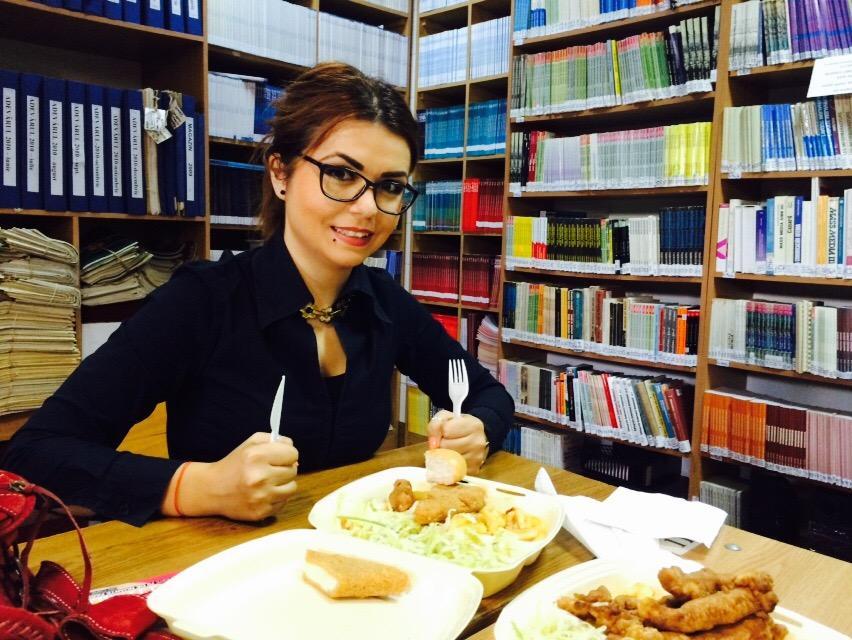 pranz la biblioteca