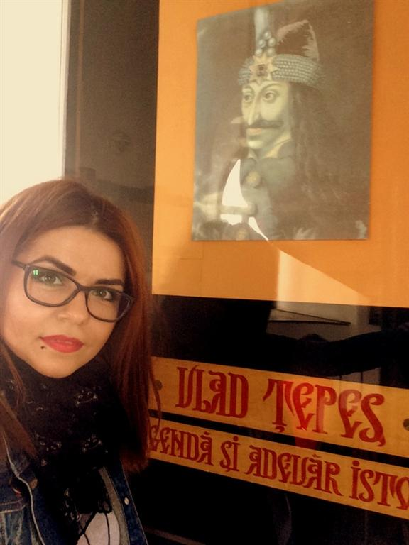 Selfie Vlad Tepes - Turnul Chindiei