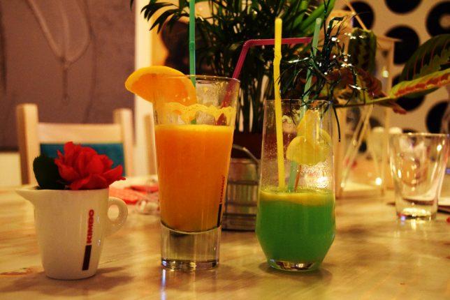 limonada cu menta vs. fresh de portocale